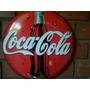 Placa Decoração Côncava 40cm Cervejas Carros Coca Cola Motos