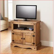 Rack;madeira Maciça; Rack Para Tv;rack De Canto