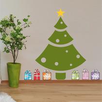 Adesivo Decorativo Árvore Natal Tamanho P + Brinde Especial