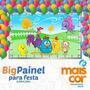 Big Painel Decorativo Festa Infantil Lona Banner