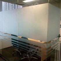 Adesivo Jateado Box Banheiro Janelas Portas Vidros - 2m X 1m