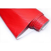 Adesivo Vermelh Fibra De Carbono Moldável Para Envelopamento