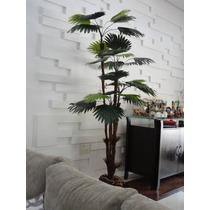 Planta Artificia-arranjo-arvore Palmeira Leque 1,80mt Altura