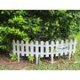 Cerca Para Jardim E Etc, Tamanho 1.62x 19cm Modelo Inglês