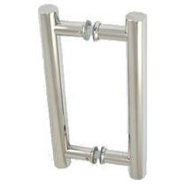 Puxador Ss 304 Hb 121 - Para Porta De Vidro Ou Madeira