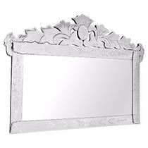 Espelho Veneziano Para Quarto Casal Grande Retangular