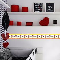 Faixa Decorativa - Minnie Vermelha
