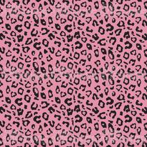 Papel De Parede Decorativo - Onça Rosa