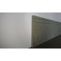 Rodapé Mdf Ultra Verde 15cm Pct C/12 Mtl -15,10 R$ Mt Linear