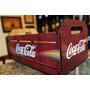Caixote Engradado Madeira Mdf Coca Cola - M