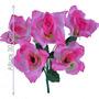 Bq Rosa X5 Rosa 30cm (21546018) - Flores Artificiais