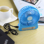 Portable Mini 3-mode Usb Rechargeable Lithium Battery Fan