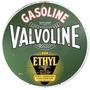Placas Decorativas Valvoline Ethyl Posto Gasolina Oleo Marca