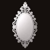 Espelhos Bisotado Para Quarto Casal Grande Oval