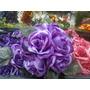 Buchinho Bola De Grama De Flores De Rosas Artificial