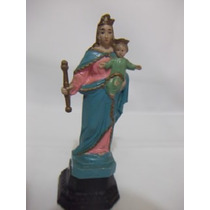 B. Antigo - Imagem Sacra Em Baquelite N. Sra Auxiliadora
