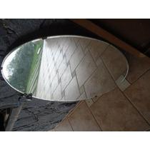 Espelho Antigo Oval Bizote