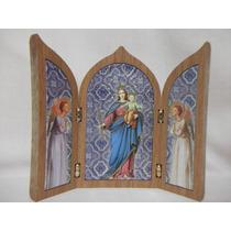B. Antigo- Capelinha Sacra Com Imagem De N. Sra. Auxiliadora