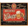 Imã De Geladeira Rótulos Cerveja Brahma