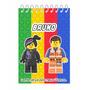 50 Bloquinho Personalizada Lego - Promoção