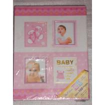 Album Baby Cor Rosa Frete Grátis