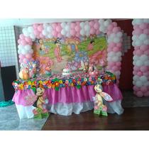 Decoração Festa Joaninha Cor De Rosa