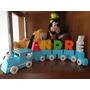 Trenzinhos Em Madeira Enfeites Para Quartos De Bebê Crianças