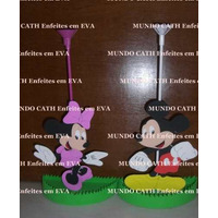 Centro De Mesa Minnie & Mickey
