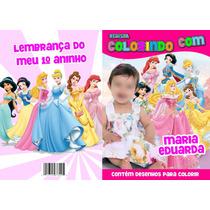100 Revistas Personalizadas Para Colorir -lembrança De Aniv.