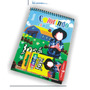 Kit Revista De Colorir Com Giz De Cera Personalizado R$:3,50
