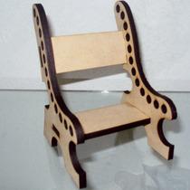 10 Cadeira Porta Lapís, Mdf, Aniversário, Festa, Lembrança