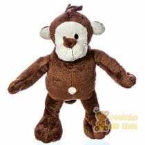 Bicho De Pelúcia Macaco Decoração Quarto Bebê E Infantil