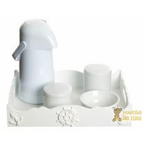 Kit Higiene Bandeja Resina Marinheiro Quarto Bebê E Infantil
