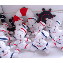 20 Ursinhos Para Lembrancinhas Ou Centro De Mesa Marinheiro