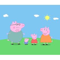 Peppa Pig Painel Lona Banner Decoração Festa Infantil