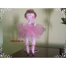 Boneca Bailarina De Pano 25cm
