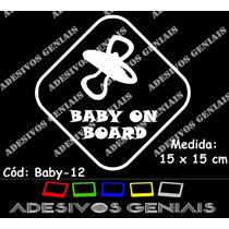 Adesivo Chupeta Bebê Nenê Bordo Infantil Carro Berço Baby-12