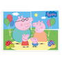 Painel Decorativo 126x88cm Peppa Pig