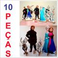 10 Display Frozen Totem Painel Cenário (04 Chão + 06 Mesa)