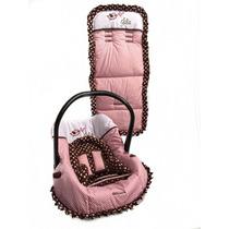 Capa Para Bebê Conforto + Capa Para Carrinho Bordada