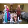 Display De Chão Frozen Totem Painel Cenário 4 Unidades