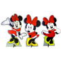 Kit 3 Display Mdf Centro Mesa Festa Infantil Minnie 4,80un*