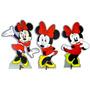 Kit 30 Display Minnie Vermelha Festa Infantil Decoração Mdf