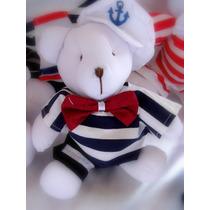Urso Marinheiro Decoração De Quarto De Bebê Menino Infantil