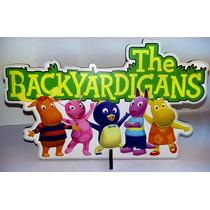 Kit 6 Display Backyardigans Festa Infantil Decoração 4,80un*