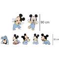 7 Display Mickey Baby - Toten, Painel 2 De Chão + 5 De Mesa