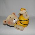 Urso - Ursinho Pote De Mel - Lembrancinha - Decor - Resina