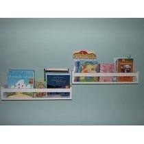 1 -prateleira Decorativa Livros Infantil 60x10x11