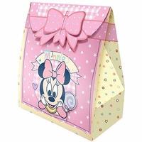 Caixa Surpresa Aniversário Infantil Bebe Minnie Menina 16un