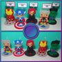 Lembrança Centro De Mesa - Tema Os Vingadores - Kit Com 10